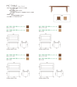 MC TABLE design : Ritzwell