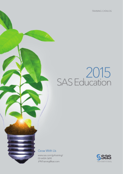 SAS Education